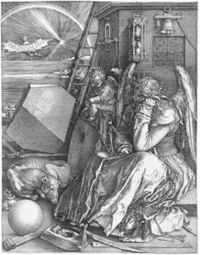 300px-Dürer_Melancholia_I
