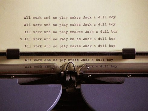 jack torrance, el escritor