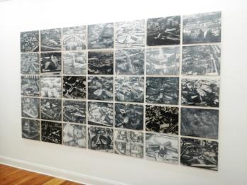 Mosaico compuesto de fotografías de instituciones penitenciarias